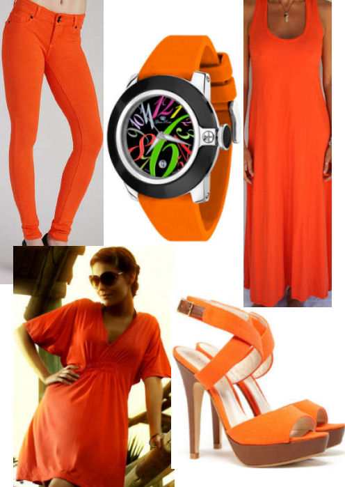 2012 Spring fashion trends BRIGHTS orange