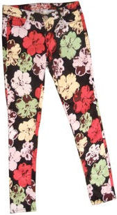 2012 Spring fashion trends FLORAL vanilla sky jeans