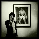 Ronnie Wood Faces Time and Places exhibit