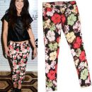 Steal the look: Shenae Grimes in flower print jeans