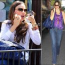 Sofia Vergara accessorizes with Jewels by Dunn bracelets