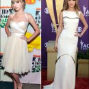 Taylor Swift wears summer whites to award shows