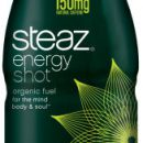 Wake up with Steaz Energy Shot