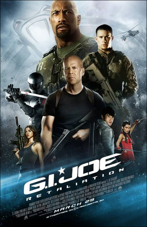 GI Joe Retaliation movie poster 120712