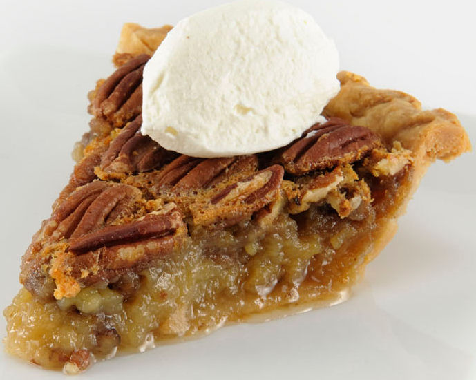holiday recipe Double Nut Pecan Pie
