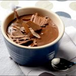 Valentines Day recipe Tofu Chocolate Budino by Debi Mazar