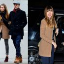 Spotted: Jessica Biel in All Saints Nikol coat