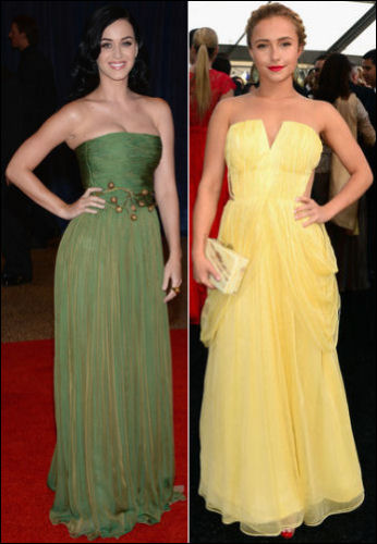 2013 White House Correspondents Association Dinner red carpet dresses 2