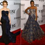 2013 TONY Awards red carpet dresses 1