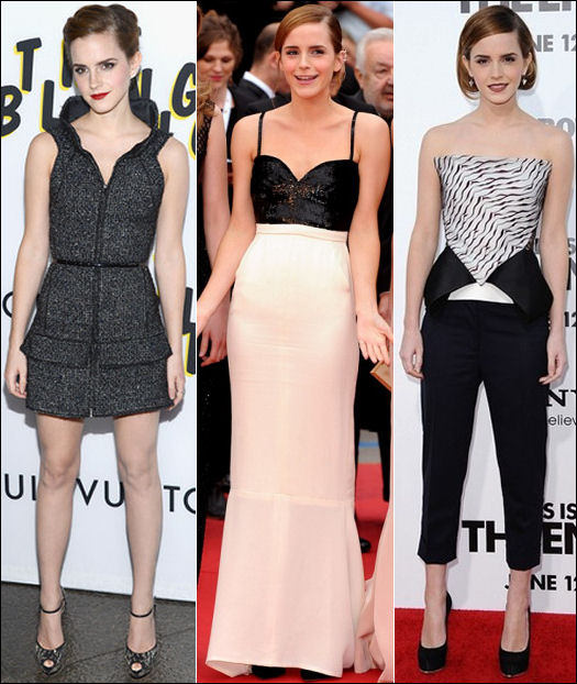 Emma Watson red carpet style The Bling Ring premieres