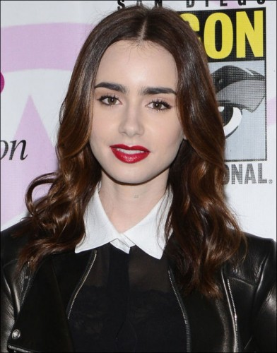 Summer hairstyles 2013 wavy Lily Collins