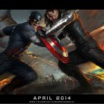 Comic-Con 2013 Marvel Studios CAPTAIN AMERICA THE WINTER SOLDIER movie poster