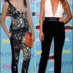 2013 Teen Choice Awards red carpet fashion nina dobrev shay mitchell