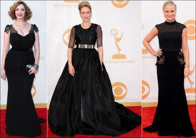 emmys dresses 2013 red carpet black