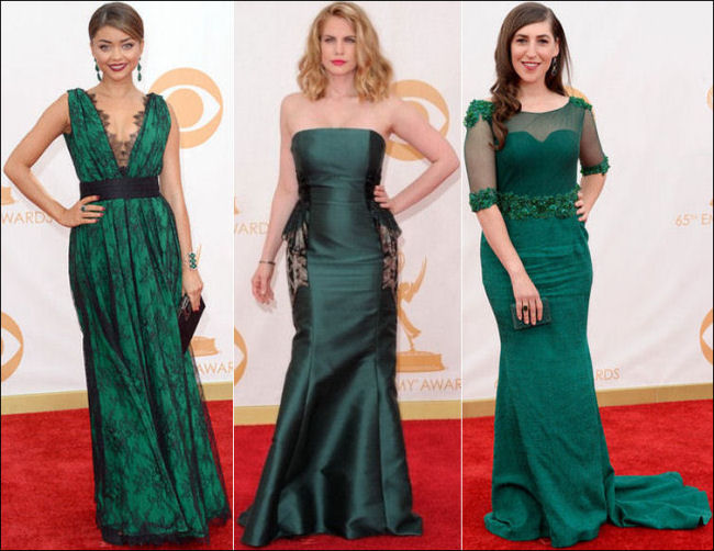 emmys dresses 2013 red carpet green