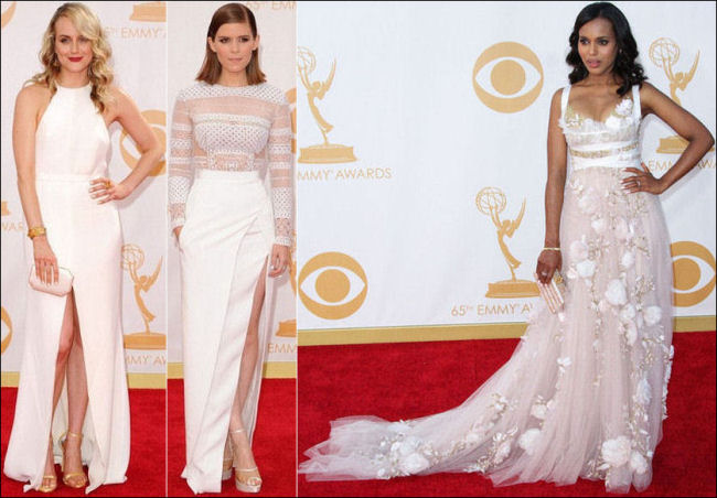 emmys dresses 2013 red carpet white