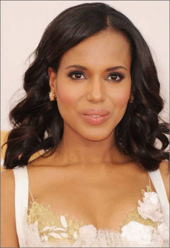 kerry washington hair makeup emmys 2013