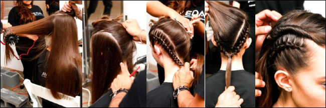 nyfw spring 2014 hair beauty trends ann yee how-to