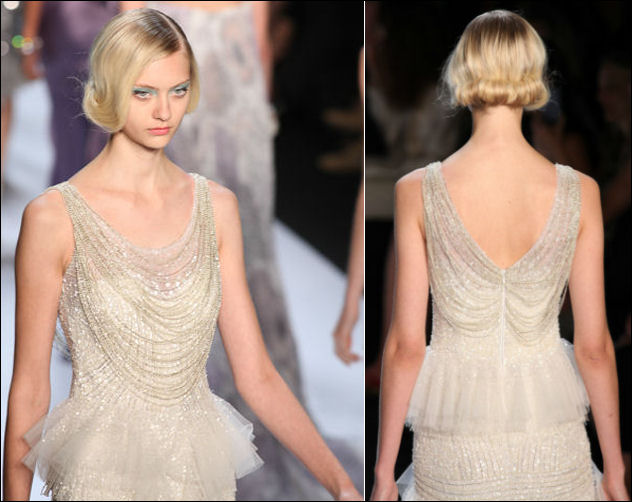 nyfw spring 2014 hair beauty trends badgley mischka