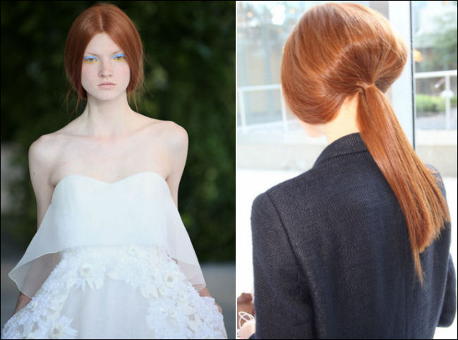 nyfw spring 2014 hair beauty trends delpozo