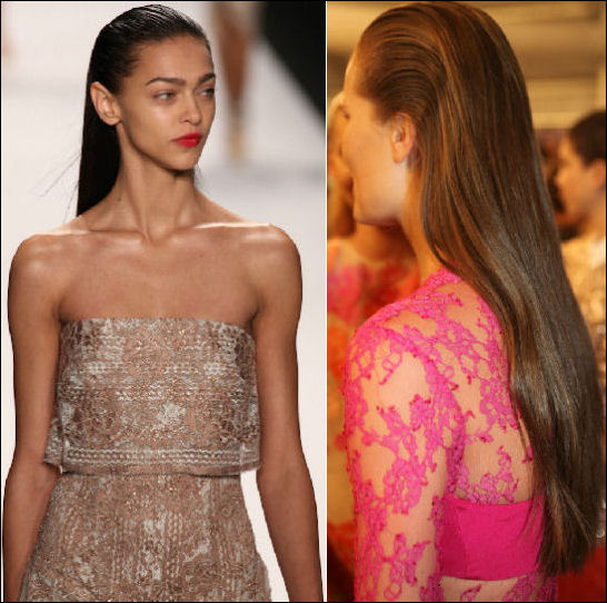 nyfw spring 2014 hair beauty trends monique lhuillier