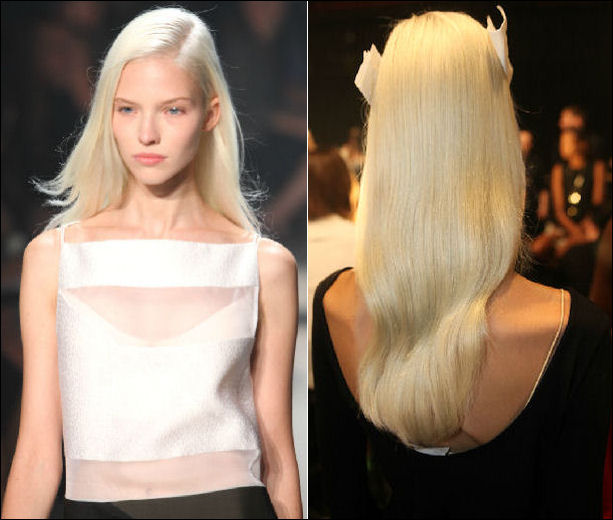 nyfw spring 2014 hair beauty trends narciso rodriguez
