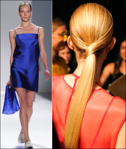 nyfw spring 2014 hair beauty trends osklen