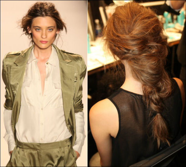 nyfw spring 2014 hair beauty trends rachel zoe