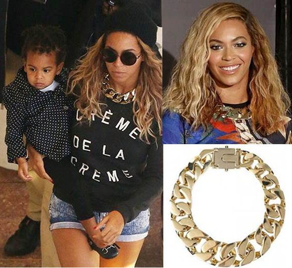 beyonce style fashion allsaints necklace