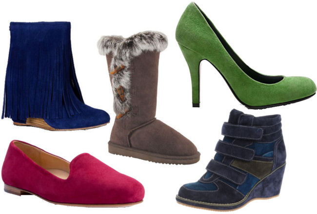 fall 2013 fashion trends suede shoes