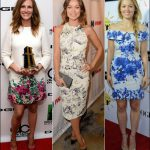 floral print dressed fall 2013 celebrity style julia roberts olivia wilde