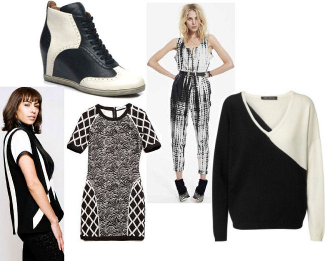fall 2013 fashion trends black and white