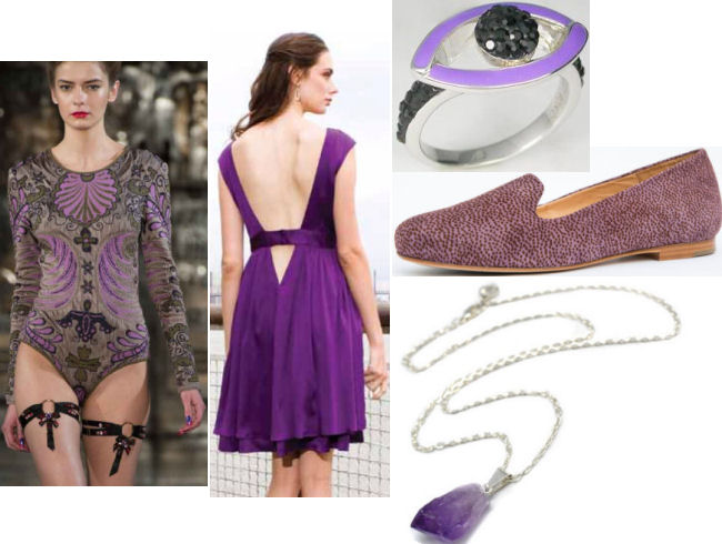 fall 2013 fashion trends purple color