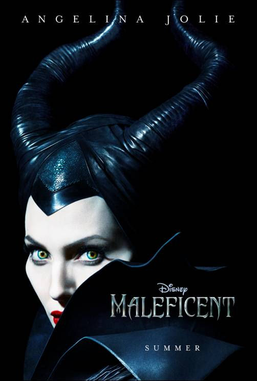 maleficent disney movie poster angelina jolie