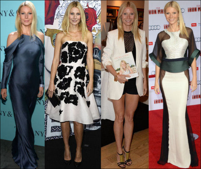 gwyneth paltrow style fashion red carpet