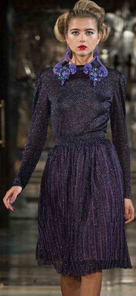 holiday fashion trends 2013 Ekaterina Kukhareva blouse skirt