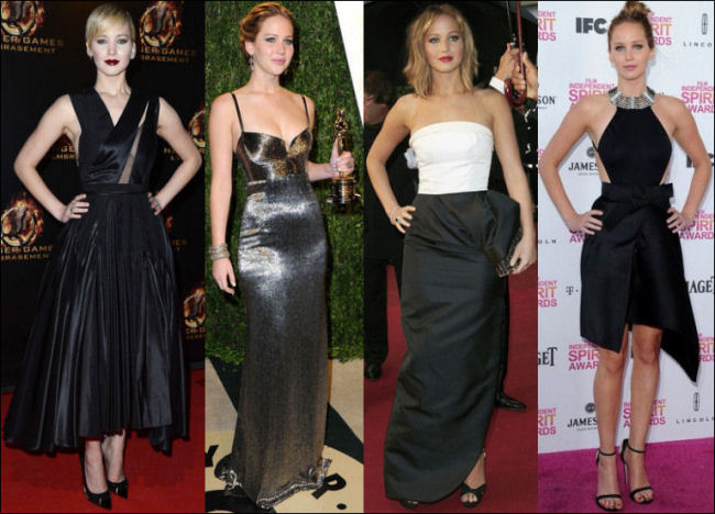 jennifer lawrence style red carpet dresses