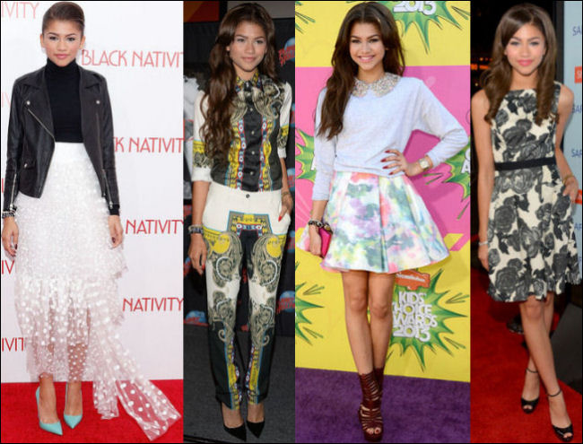 A Look Back Celebrity Styles 2013