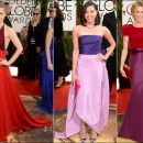 2014 Golden Globes red carpet dresses