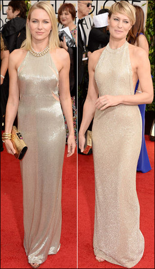 golden globes red carpet dresses 2014 gold halter dresses