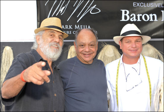cheech and chong baron hats oscar suite 2014 doris bergman