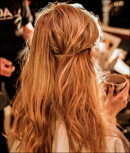 nyfw fall 2014 hair trends novis new york fashion week