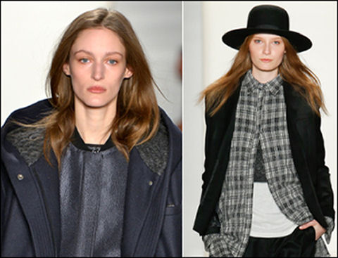 nyfw fall 2014 hair trends public school women