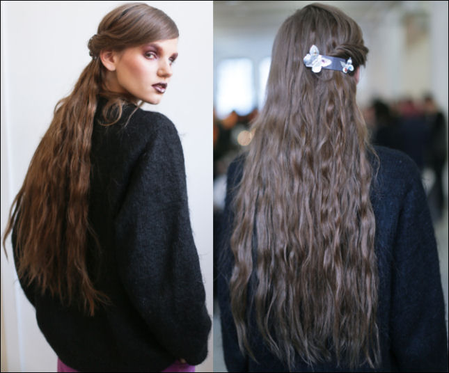 nyfw fall 2014 hair trends rodarte new york fashion week