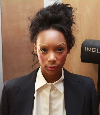 nyfw fall 2014 makeup 5.31 jerome