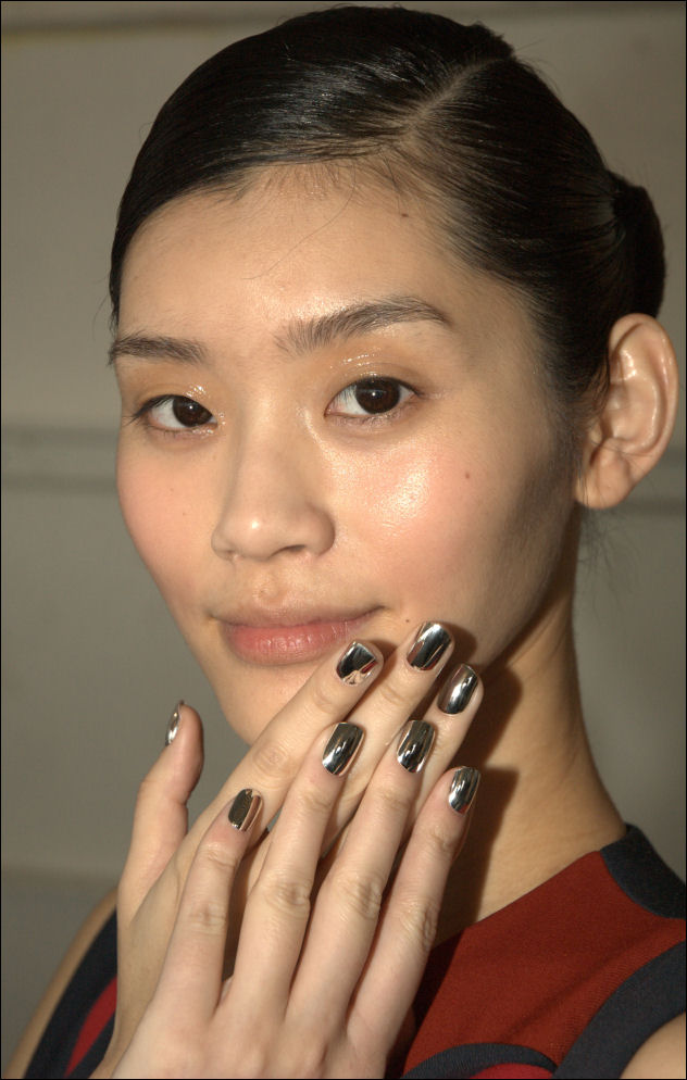 nyfw fall 2014 nails delpozo new york fashion week
