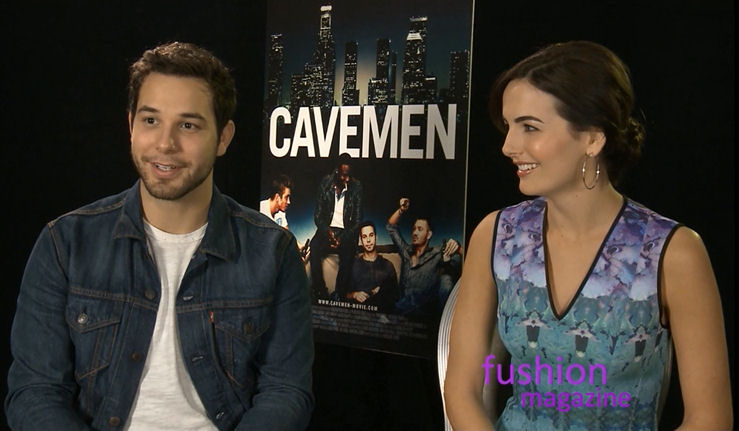 skylar astin interview camilla belle chad michael murray cavemen movie