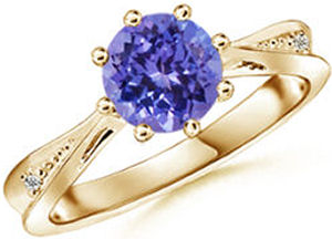 valentines day gifts for her 2014 tanzanite diamond ring