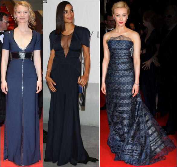 2014 cannes red carpet dresses fashion blues