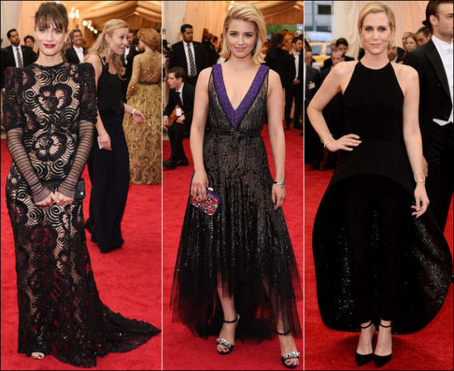 2014 met gala dresses fashion black